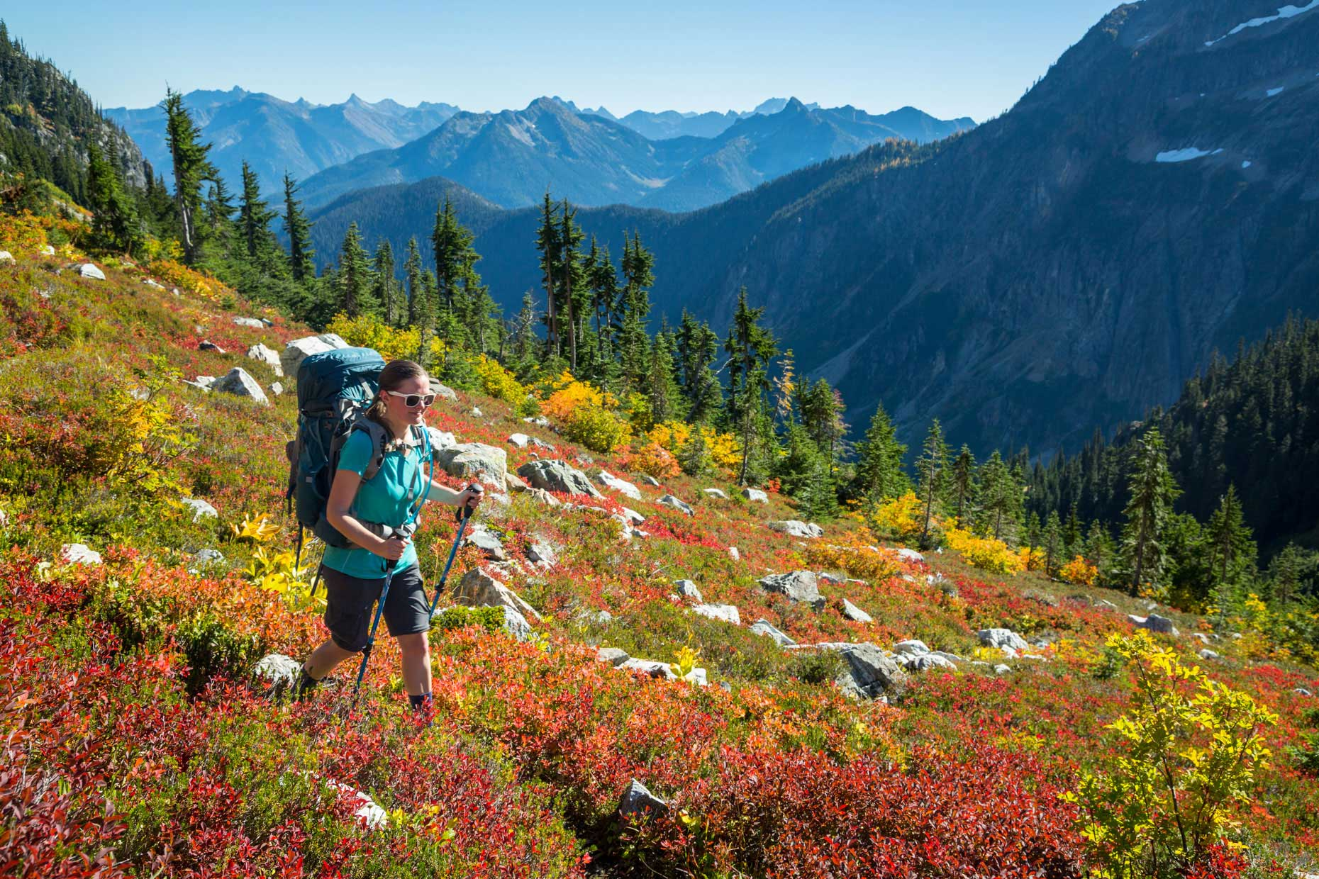 Backpacking in the North Cascades National Park