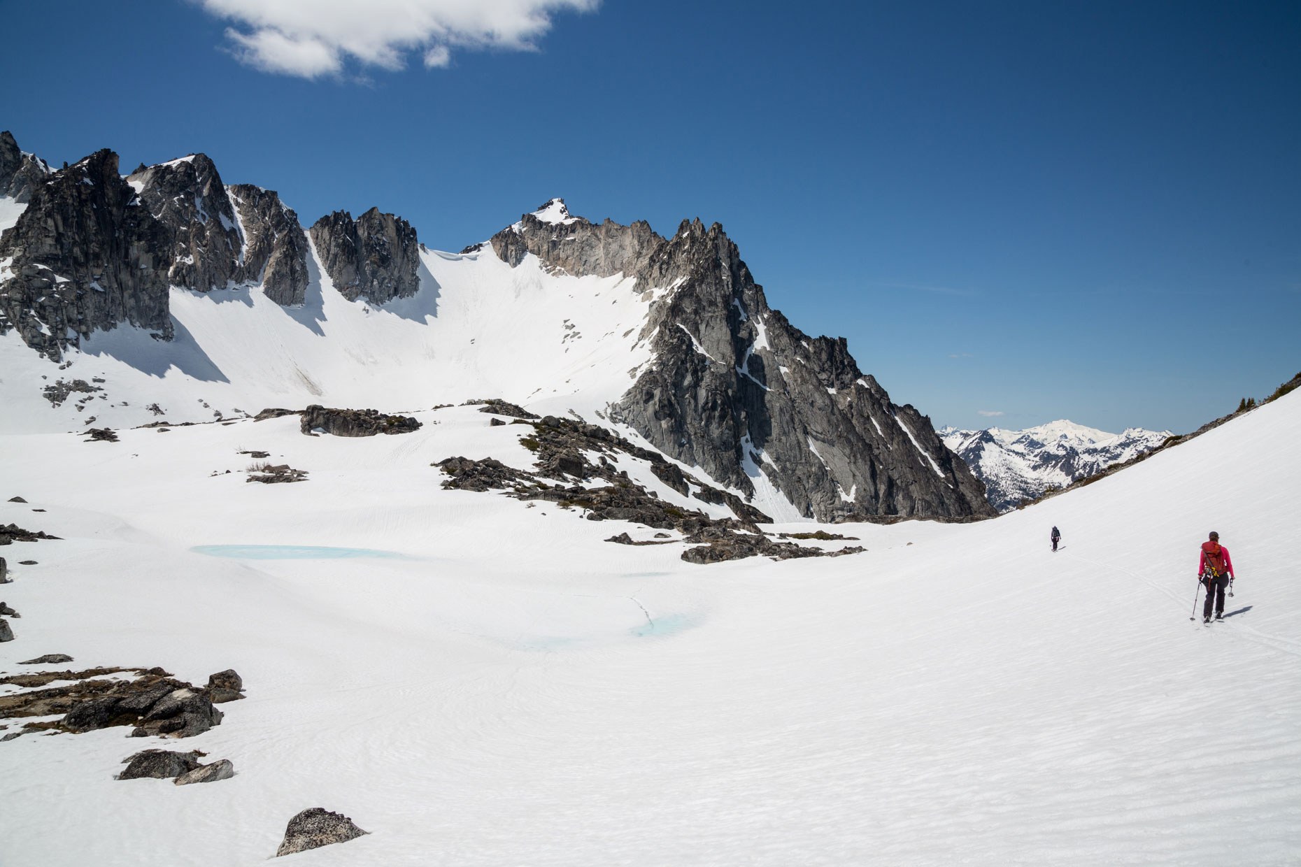 Skiing the Enchantments