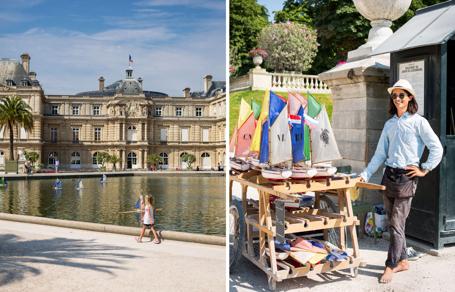 Luxembourg Garden boats